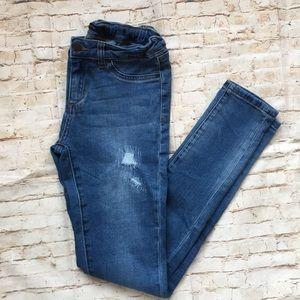 Girl's Joe's Denim Distressed Skinny Jeans Size 16